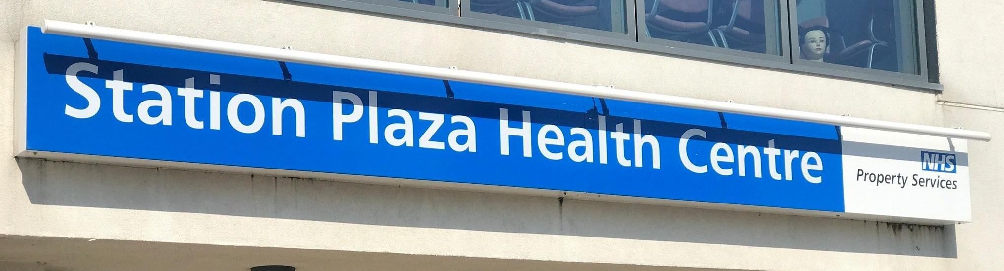 Walk-in Centre signage