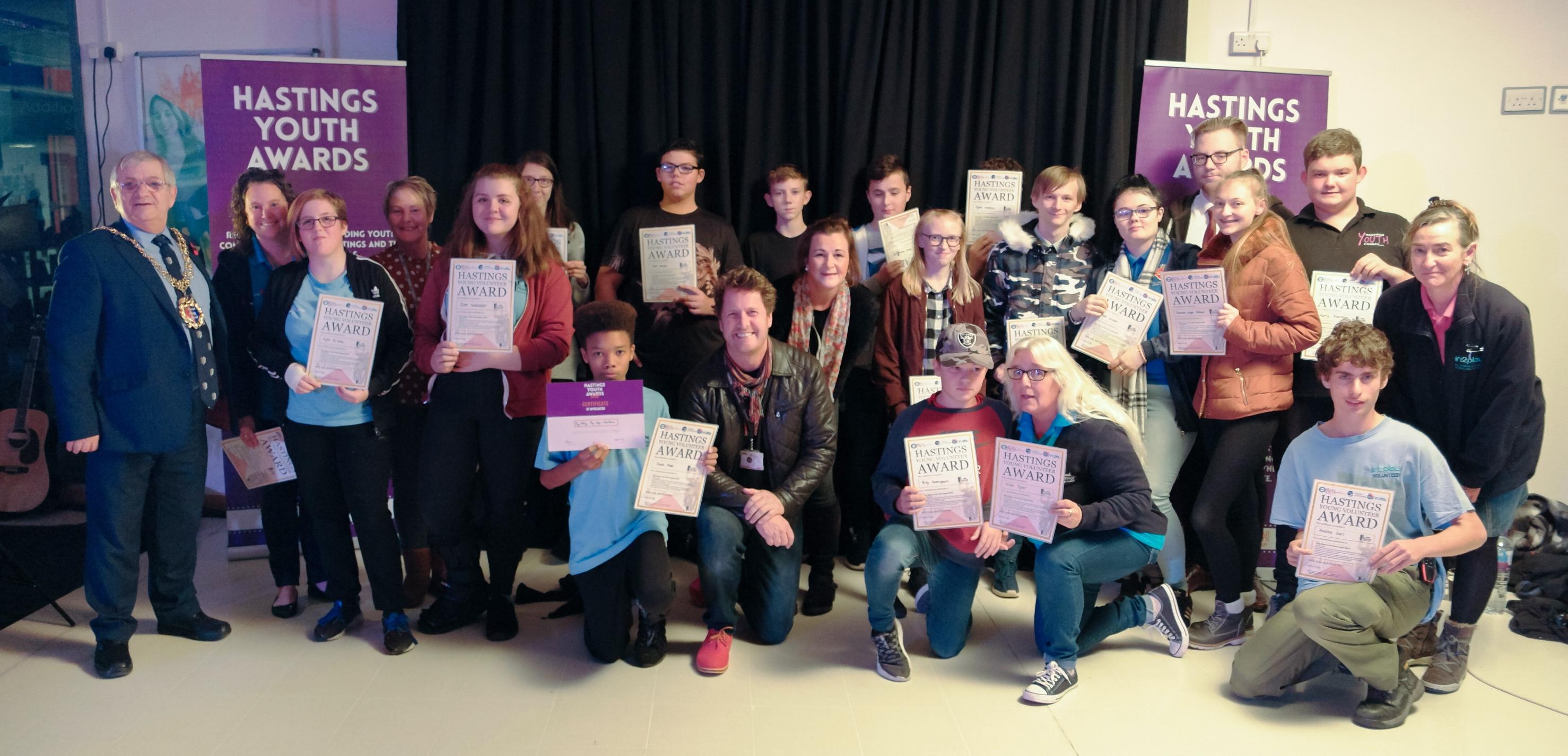 Hastings play days volunteers Hastings youth awards 2018
