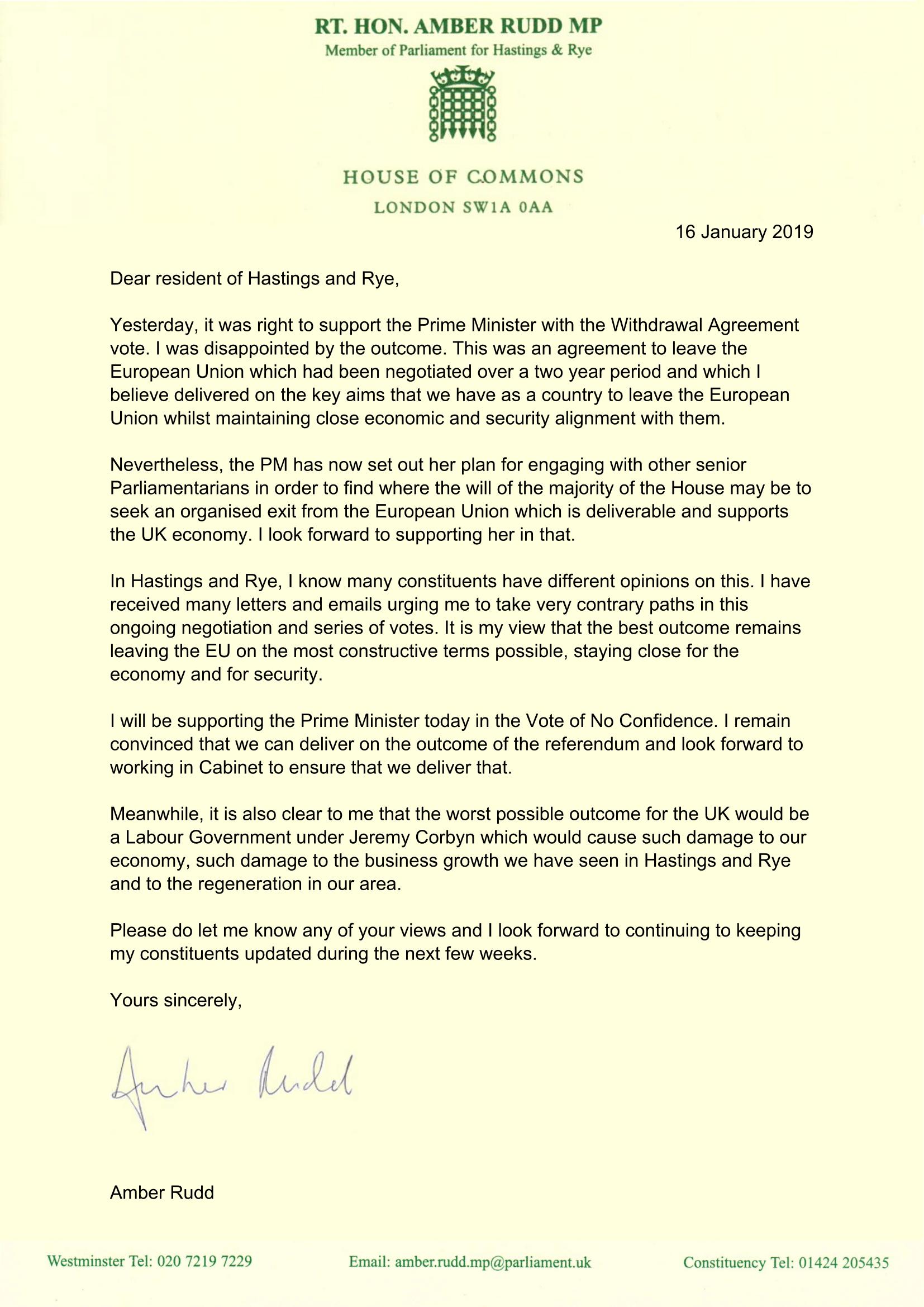 amber letter wa vote
