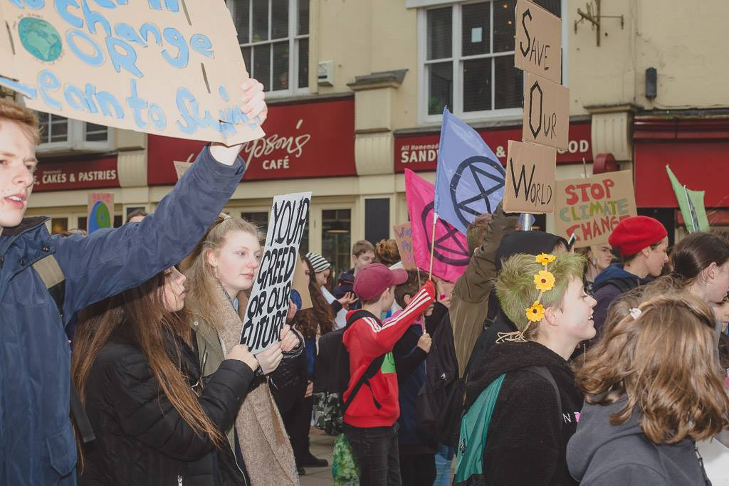 YOuth strike for cllimate