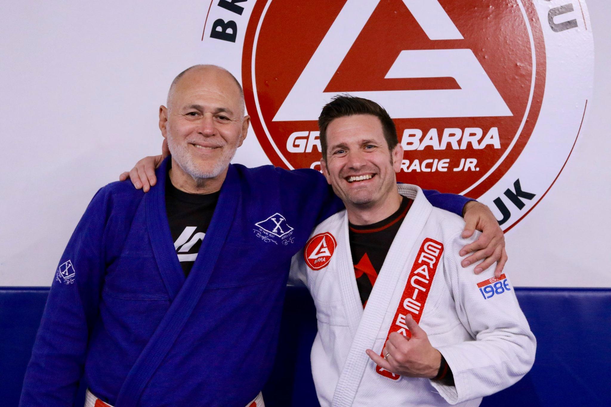 Mauricio Gomes (left) and Paul Bridges